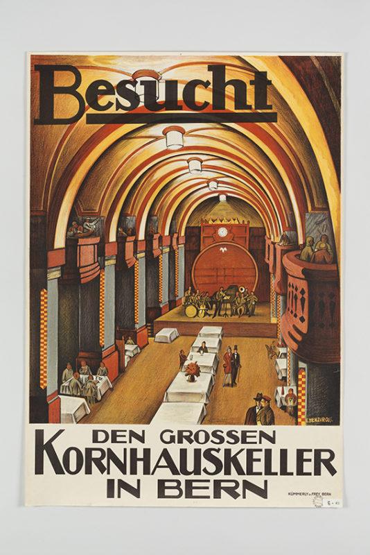 Besucht den grossen Kornhauskeller in Bern