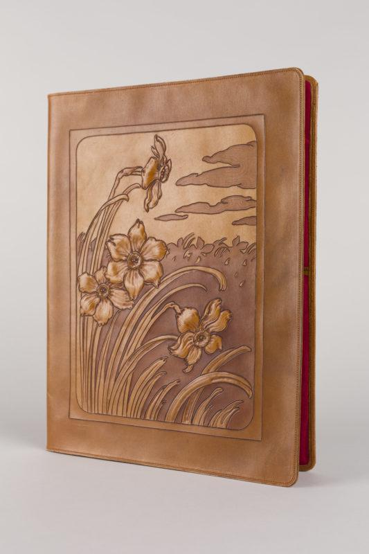 Schreibmappe/Etui de correspondance, Albert Renggli, Biel (1902)
