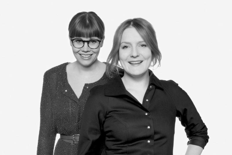 Nicole Verbeek und Evelyne Pfeffer ©Susanne Pfeffer