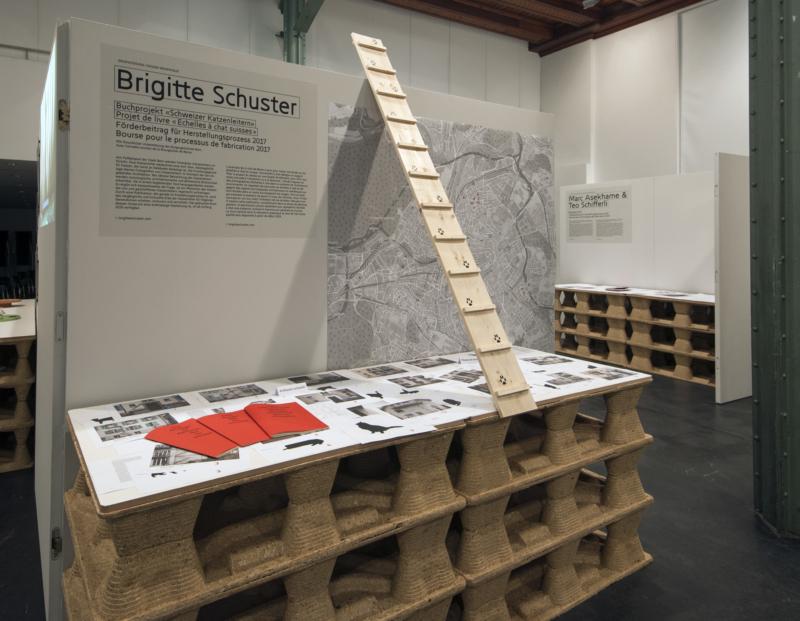 Das Buchprojekt von Brigitte Schuster wurde 2017 von der Berner Design Stiftung gefördert und 2018 in der Bestform gezeigt. ©Alexander Egger.