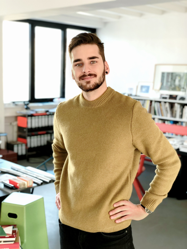 Der Berner Produktdesigner Marc Gerber, Credit: Timo Weil