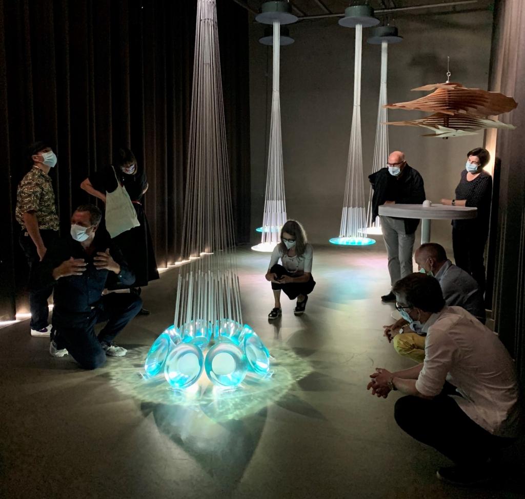 Im August 2021 fand für den Freundeskreis  im Moïtel von atelier oï eine exklusive Führung statt.